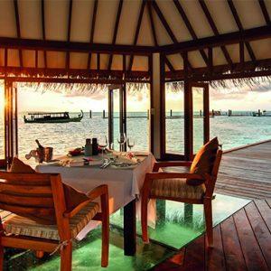 Luxury Maldives Holidays Hideaway Beach Resort Matheefaru Restaurant