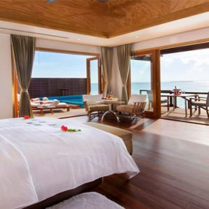 Luxury Maldives Holidays Hideaway Beach Resort Ocean Villa With Pool
