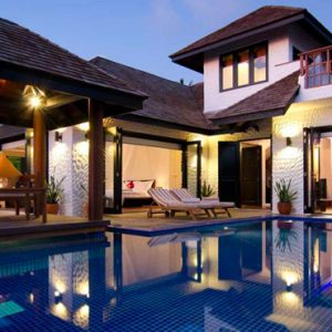 Luxury Maldives Holidays Hideaway Beach Resort Two Bedroom Family Villa With Pool
