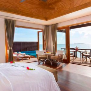 Luxury Maldives Holidays Hideaway Beach Resort Two Bedroom Ocean Villa With Pool