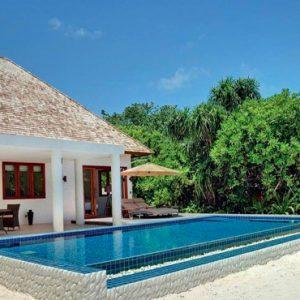Luxury Maldives Holidays Hideaway Beach Resort Villa 1