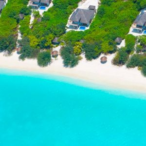 Luxury Maldives Holidays Hideaway Beach Resort Aerial View 1