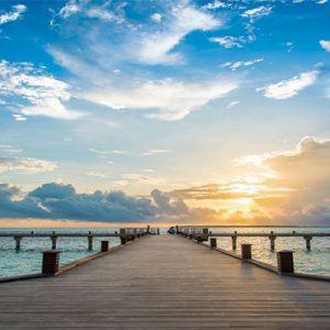 Luxury Maldives Holidays Hideaway Beach Resort Jetty View