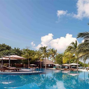Luxury Maldives Holidays Hideaway Beach Resort Main Pool