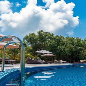 Luxury Maldives Holidays Hideaway Beach Resort Main Pool1