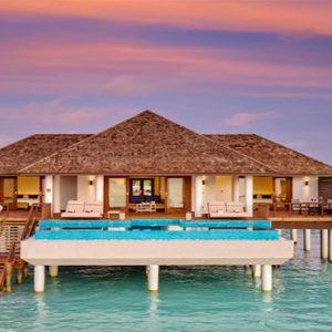 Luxury Maldives Holidays Hideaway Beach Resort Ocean Villa Pool