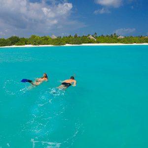 Luxury Maldives Holidays Hideaway Beach Resort Snorkeling