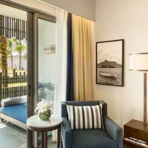 Luxury Mauritius Holiday Packages Anantara Iko Luxury Mauritius Resort & Villas Deluxe Garden Room Living Room View