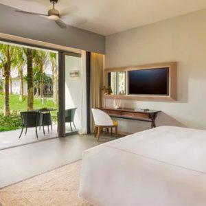 Luxury Mauritius Holiday Packages Anantara Iko Luxury Mauritius Resort & Villas Deluxe Garden Room Bedroom View
