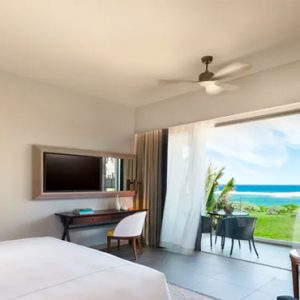 Luxury Mauritius Holiday Packages Anantara Iko Luxury Mauritius Resort & Villas Deluxe Ocean View Room Bedroom View