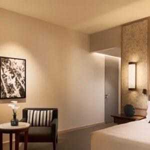Luxury Mauritius Holiday Packages Anantara Iko Luxury Mauritius Resort & Villas Deluxe Ocean View Room Bedroom View 2