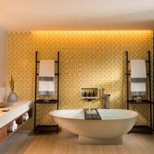 Luxury Mauritius Holiday Packages Anantara Iko Luxury Mauritius Resort & Villas Ocean View Suite Bathroom View