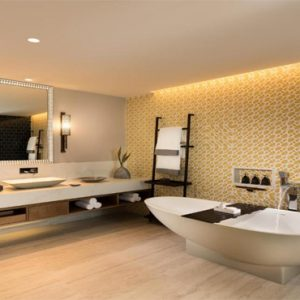 Luxury Mauritius Holiday Packages Anantara Iko Luxury Mauritius Resort & Villas Ocean View Suite Bathroom View 2
