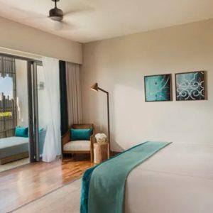 Luxury Mauritius Holiday Packages Anantara Iko Luxury Mauritius Resort & Villas Ocean View Suite Bedroom View