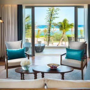 Luxury Mauritius Holiday Packages Anantara Iko Luxury Mauritius Resort & Villas Ocean View Suite Living Room View 2