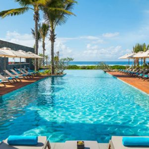 Luxury Mauritius Holiday Packages Anantara Iko Luxury Mauritius Resort & Villas Pool At Daytime