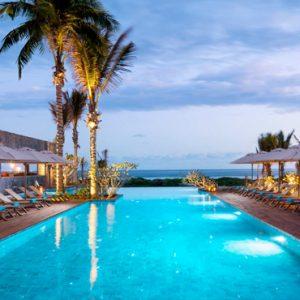 Luxury Mauritius Holiday Packages Anantara Iko Luxury Mauritius Resort & Villas Pool At Night