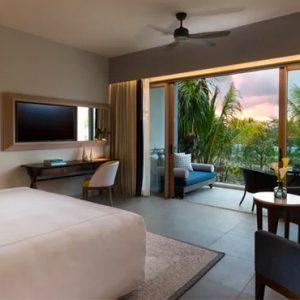 Luxury Mauritius Holiday Packages Anantara Iko Luxury Mauritius Resort & Villas Premier Garden View Room Bedroom View