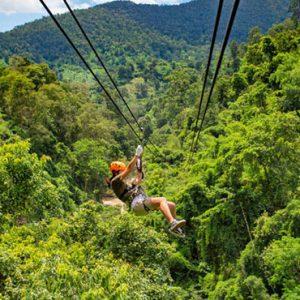 Luxury Mauritius Holiday Packages Anantara Iko Luxury Mauritius Resort & Villas Ziplining