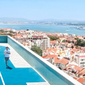 Luxury Portugal Holidays Four Seasons Hotel Ritz Lisbon Rooftop
