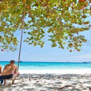 Luxury Thailand Holidays The Sarojin Couple On Beach