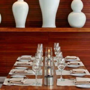 Luxury Thailand Holidays The Sarojin Dining Table