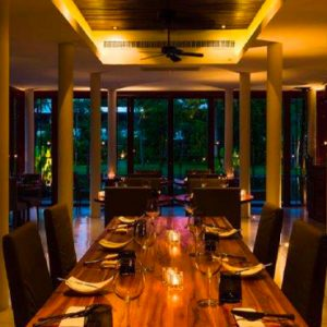 Luxury Thailand Holidays The Sarojin Dining Table 1