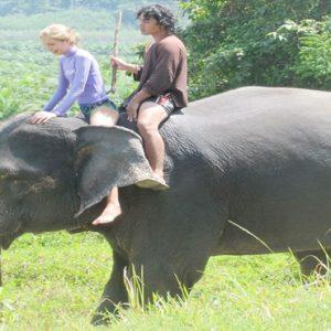 Luxury Thailand Holidays The Sarojin Elephant Riding