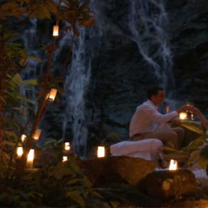 Luxury Thailand Holidays The Sarojin Honeymoon Couple Dining