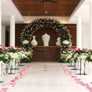 Luxury Thailand Holidays The Sarojin Indoor Wedding Setup