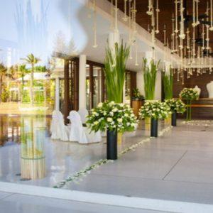 Luxury Thailand Holidays The Sarojin Indoor Wedding Setup2