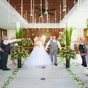 Luxury Thailand Holidays The Sarojin Indoor Wedding Setup3