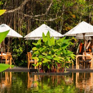 Luxury Thailand Holidays The Sarojin Outdoor Dining 1