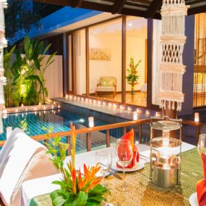 Luxury Thailand Holidays The Sarojin Private Dining 1