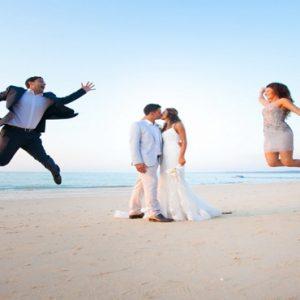 Luxury Thailand Holidays The Sarojin Wedding Couple On Beach2