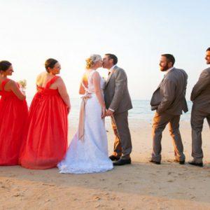 Luxury Thailand Holidays The Sarojin Wedding Couple On Beach3