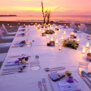 Luxury Thailand Holidays The Sarojin Wedding Reception On Beach