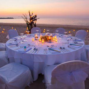 Luxury Thailand Holidays The Sarojin Wedding Reception On Beach1