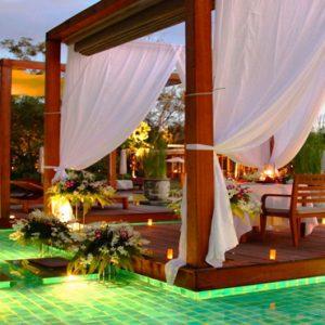 Luxury Thailand Holidays The Sarojin Pool At Night