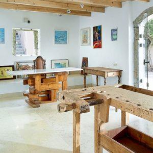 Art Gallery St Nicolas Bay Resort Hotel & Villas Greece Holidays