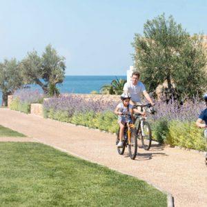 Cycling Ikos Olivia Resort Greece Holidays