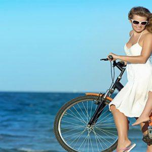 Cycling St Nicolas Bay Resort Hotel & Villas Greece Holidays
