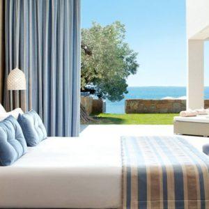 Deluxe Two Bedroom Bungalow Suite Beachfront2 Ikos Olivia Resort Greece Holidays