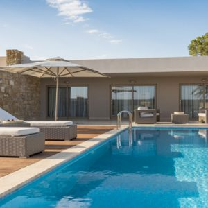 Deluxe Two Bedroom Bungalow Suite With Private Pool1 Ikos Olivia Resort Greece Holidays