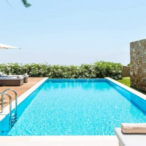 Deluxe Two Bedroom Bungalow Suite With Private Pool3 Ikos Olivia Resort Greece Holidays