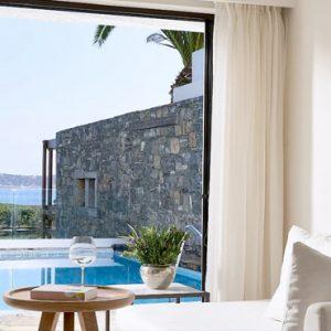Eros Club Suite Private Pool Seafront2 St Nicolas Bay Resort Hotel & Villas Greece Holidays