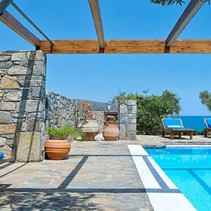 Family Suite 2 Bedroom Private Pool Sea View St Nicolas Bay Resort Hotel & Villas Greece Holidays