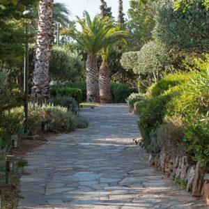 Garden Walkway St Nicolas Bay Resort Hotel & Villas Greece Holidays