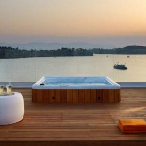 Jacuzzi On The Deck Nikki Beach Resort Porto Heli Greece Holidays