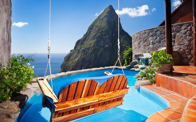 Ladera Hilltop Dream Suite The Best Balcony Views Around The World